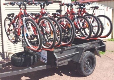 Rides Business network mobile cycle store